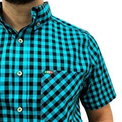 Camisa Mexican Shirts Xadrez 0060-03-MXS