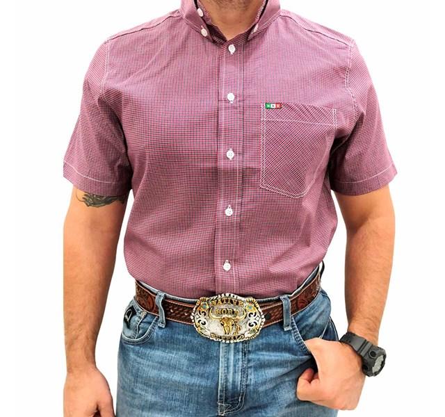 Camisa Mexican Shirts Xadrez 0060-14-MXS