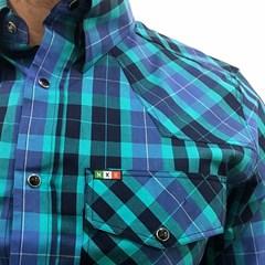 Camisa Mexican Shirts Xadrez 0063-MXS