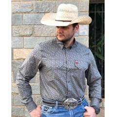 Camisa Os Vaqueiros Estampado 7016-05