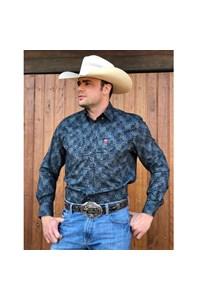 Camisa Os Vaqueiros Estampado 7016-06