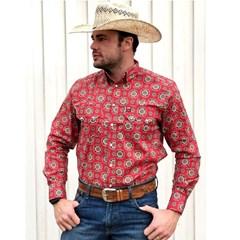 Camisa Os Vaqueiros Estampado 7016-07