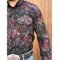 Camisa Os Vaqueiros Estampado 7016-10