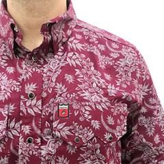 ... Camisa Os Vaqueiros Floral 7016-04 3eece8c2fa4