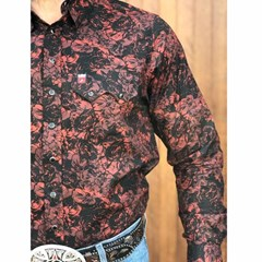 Camisa Os Vaqueiros Floral 7016-08