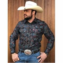 Camisa Os Vaqueiros Floral 7016-09