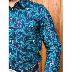 Camisa Os Vaqueiros Floral 7016-13