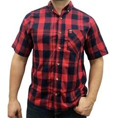 ... Camisa Os Vaqueiros Xadrez Manga Curta 7001 7d358285718