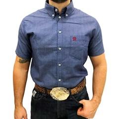Camisa Ox Horns Jeans Estampado 9054