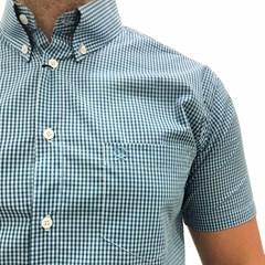 Camisa Ox Horns Xadrez Azul Claro/Azul Marinho/Branco 9114