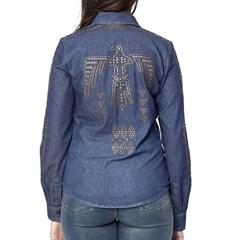 Camisa Tassa Gold Feminina Jeans 4169.1 Camisa Tassa Gold Feminina Jeans  4169.1 30430288a51b9