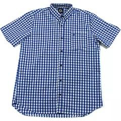 Camisa Tuff Xadrez Azul/Branco SC-1333