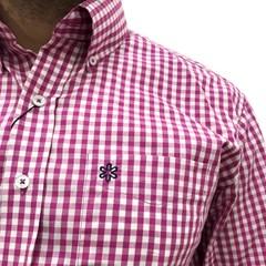 Camisa Tuff Xadrez Pink/Branco 1038L