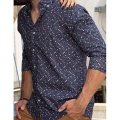 Camisa TXC Floral Azul Marinho 2293L