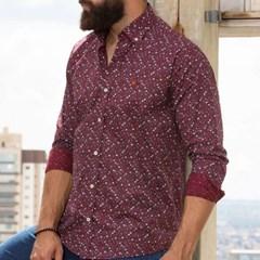 Camisa TXC Floral Bordô 2294L