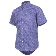 Camisa TXC Floral Roxo Azul 2064C ... 0d7a7f19c2d