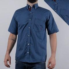 Camisa TXC Xadrez Azul Marinho/ Azul 2274C