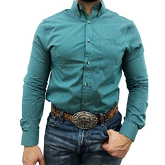 Camisa TXC Xadrez Verde/Branco/Preto 2042L