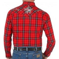 Camisa Wrangler PBR Importada 41C136952400000