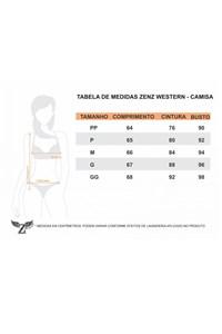 Camisa Zenz Western Colorado ZW0219045