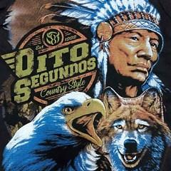 Camiseta 8 Segundos Infantil Preto/Estampado 3793