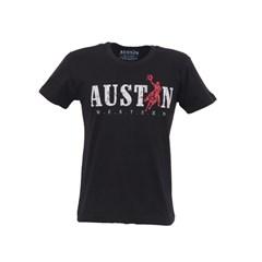 Camiseta Austin Western Preta/Estampa 23010