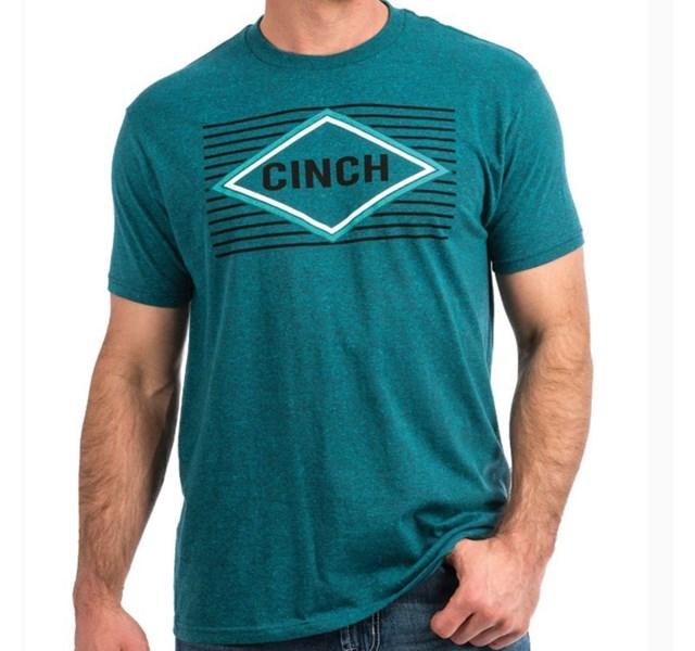 Camiseta Cinch Azul Turquesa MTT1690339-HTE