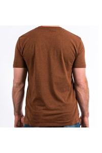 Camiseta Cinch Marrom Mescla MTT1690340-ORG