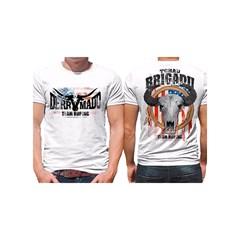 Camiseta Derramado Branco/Estampa DRRM-C02