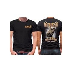 Camiseta Derramado Preto/Estampa DRRM-C06