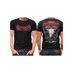 Camiseta Derramado Preto/Estampa DRRM-C07