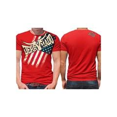 Camiseta Derramado Vermelho/Estampa DRRM-C03
