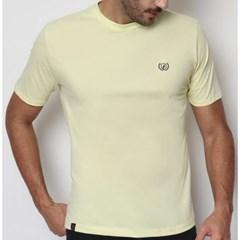 Camiseta Dock's 0944 Amarelo Claro