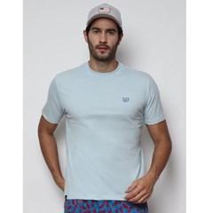 Camiseta Dock's 0944 Azul Claro