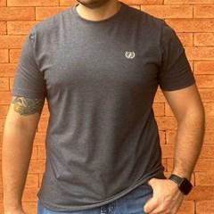 Camiseta Dock's 0944 Preto Mescla