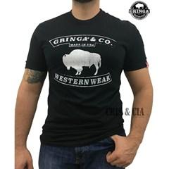 Camiseta Gringa'S Western Highway Preto