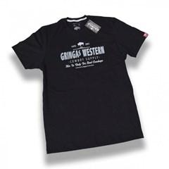 Camiseta Gringa'S Western Original Bison Preta