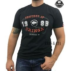 Camiseta Gringa'S Western Property Preto