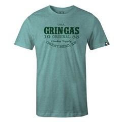 Camiseta Gringa'S Western Triblend Kelly Green
