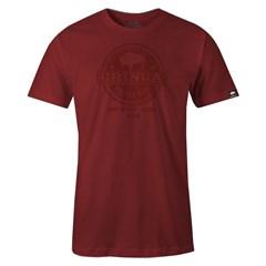 Camiseta Gringa'S Western Tubular Red Blood