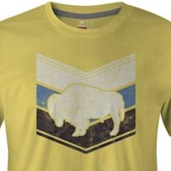 Camiseta Gringa'S Western Wear Amarelo/ Estampa 0419103