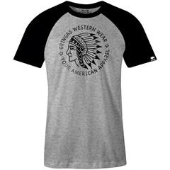 Camiseta Gringa'S Western Wear Raglan Chief 9070