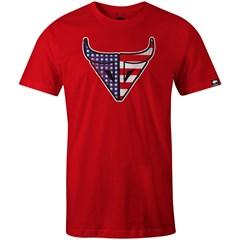Camiseta Gringa'S Western Wear Vermelho/ Estampa 20070