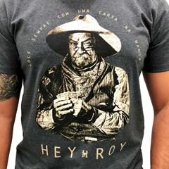 Camiseta Hey Roy Chumbo 1023