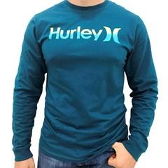 Camiseta Hurley manga longa Azul Petróleo 636150A
