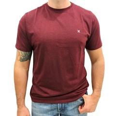 Camiseta Hurley Vermelho Mescla 636000A