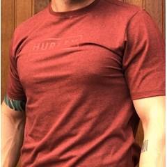 Camiseta Hurley Vermelho Mescla 639005L70