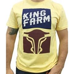 Camiseta King Farm Amarela KF52