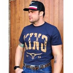 Camiseta King Farm Azul Marinho GCM15