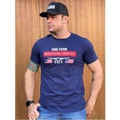 Camiseta King Farm Azul Marinho GCM315